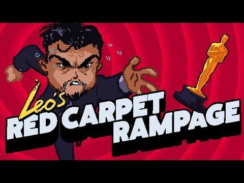 Leo's RED CARPET RAMPAGE! Leonardo DiCaprio Oscar Game Gameplay
