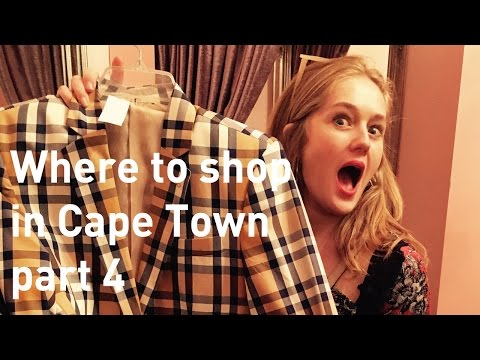 Where to shop in Cape Town part 4 - Long street, vintage shopping