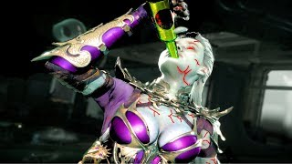 MK11 Sindel Performs All Victory Celebrations