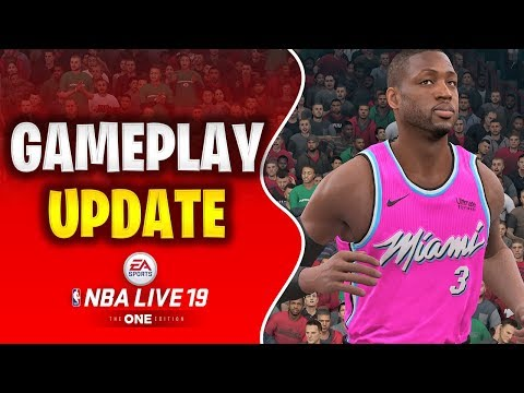 THE UPDATE WE'VE BEEN WAITING FOR | NBA LIVE 19 UPDATE