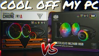 My gaming PC runs TOO HOT! - Gamdias M1A 240r vs Cooler Master ML240r (RGB AIO Liquid Coolers)