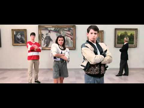 Ferris Bueller's Day Off - Art Institute of Chicago scene