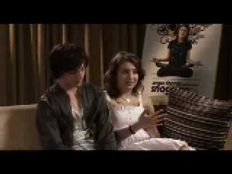 aaron johnson and georgia groome : Angus, thongs and perfect snogging