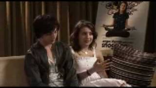 Скачать Aaron Johnson And Georgia Groome Interview Angus Thongs And Perfect Snogging