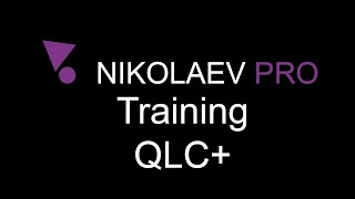 QLC+ Training - How to export and import fixture list