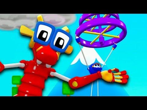 Animal Mechanicals - Full Episode 45 Mins Compilation - Cartoons for Children