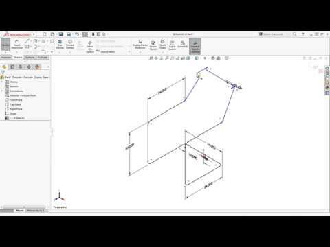 Tech Tip - SOLIDWORKS 3D Sketching