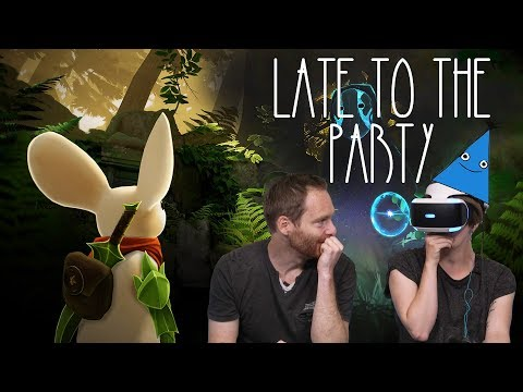 Let's Play Moss PSVR - Late To The Party