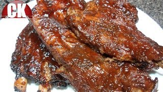 How To Make Slow Cooker Bbq Ribs - Chef Kendra's Easy Cooking!