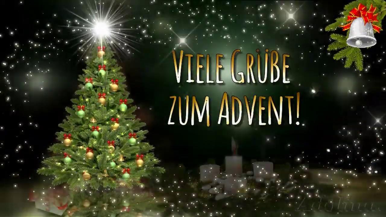 Liebe Grüße zum 3. AdventAdventsgrüße - YouTube
