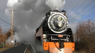 HD SP 4449 Steam Engine Highlights