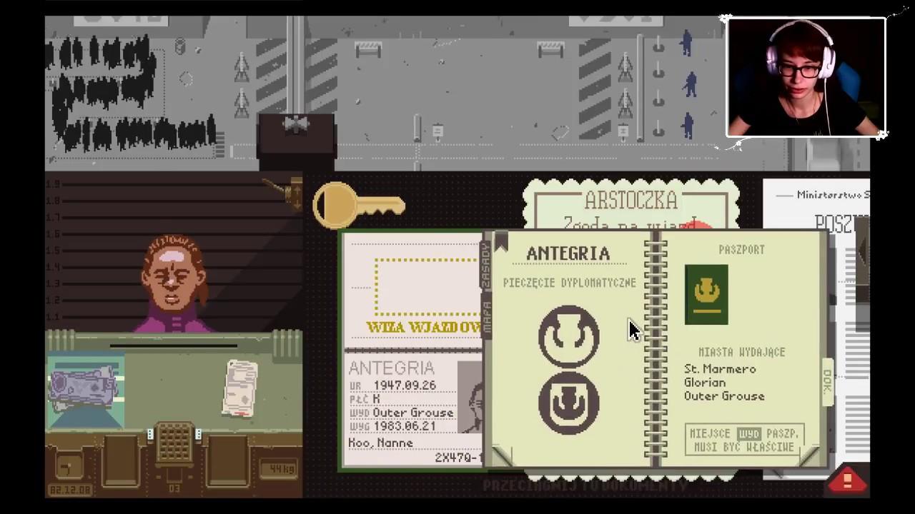 """[Archiwum] Live – Papers, Please! (3) – [2/2] – """"Ustrzeliłam!"""""""