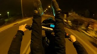 police fines vs yamaha xtx wheelies greece papagou ft jesse warren don t look down