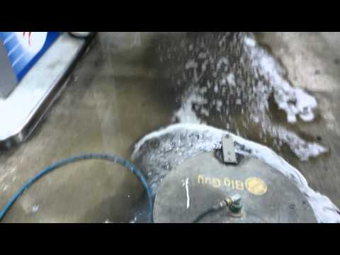Gas Station Concrete Pressure Washing & Cleaning Chicago