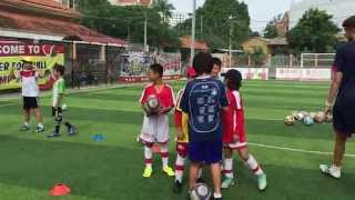 Team work Activity ( Arsenal SS Summer Camp)