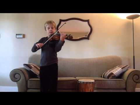Algerian national anthem on the violin- Kassaman