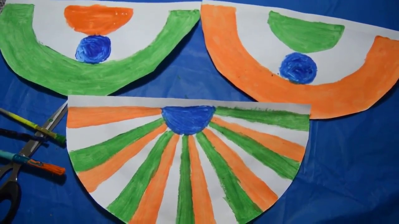 craft ideas for indian independence day indian republic or independence day craft craft 7577