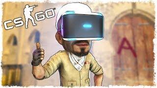 CS:GO в VR: ДУЭЛЬ НА КАРТЕ МИРАЖ!!! #2