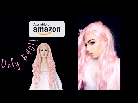 $40 Lace Front Wig From Amazon !!
