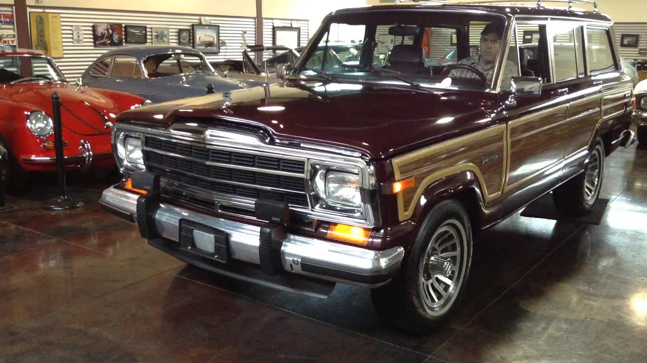 Jeep Grand Wagoneer >> Test Drive: 1988 Jeep Grand Wagoneer SOLD at the Sun ...