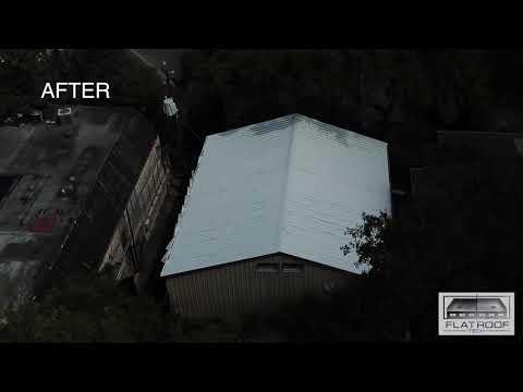 FRT Metal Roof Repair Using GE Enduris