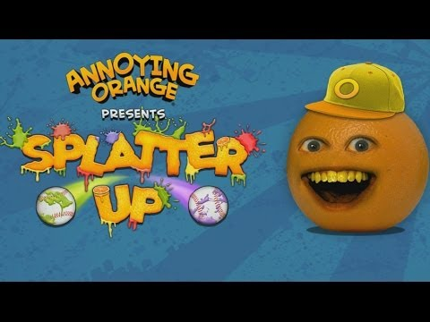 Annoying Orange: Splatter Up! Android GamePlay Trailer (HD) [Game For Kids]