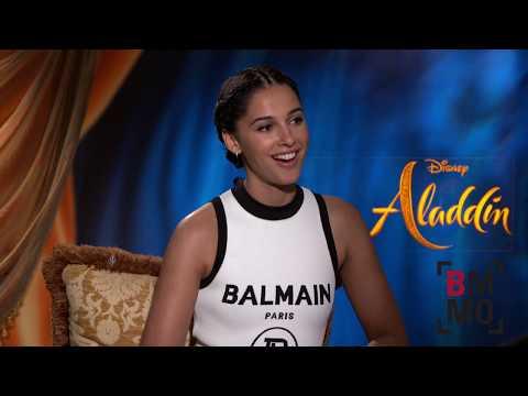 Naomi Scott Interview - Aladdin