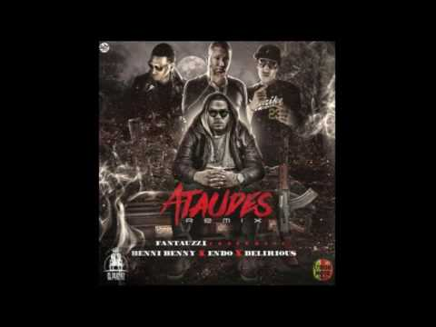Fantauzzi Ft Benni Benny  Endo y Delirious Ataudes (Remix) [Audio Oficial]