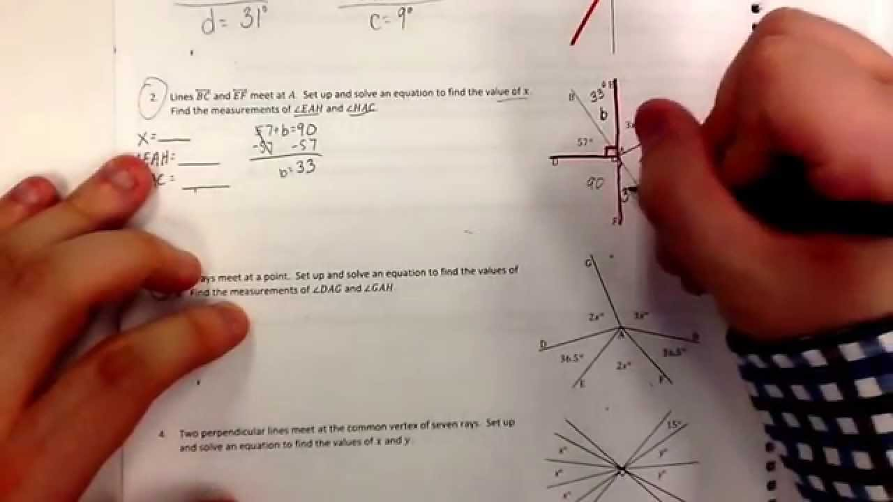 Solve for Unknown Angles using Equations 3 (examples [ 720 x 1280 Pixel ]
