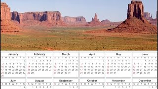 Creating a Calendar with the Calendar Wizard Extension in CorelDRAW X8