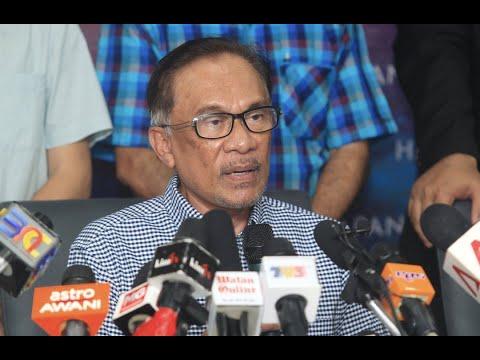 LIVE Sidang media oleh pemenang PRK Port Dickson , Datuk Seri Anwar Ibrahim