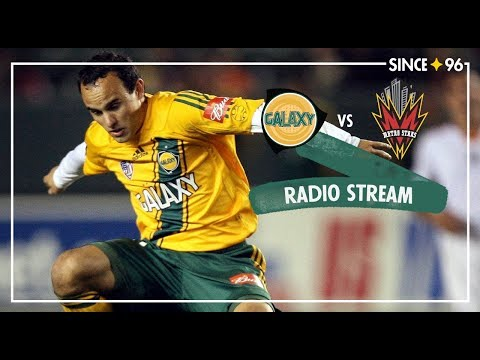 LA Galaxy vs New York Red Bulls   Radio Livestream