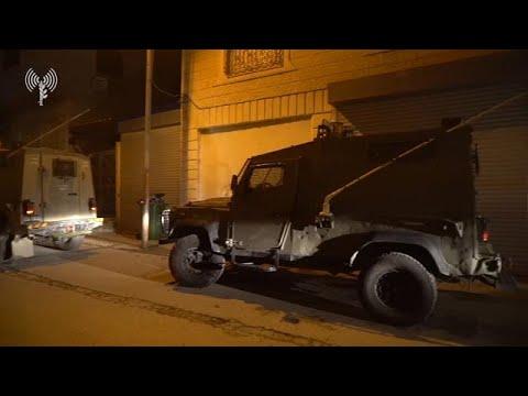 """פעילות כוחות צה""""ל מחטמ""""ר יהודה למיפוי בית המחבל, שרצח את אורי אנסבכר, בעיר חברון"""