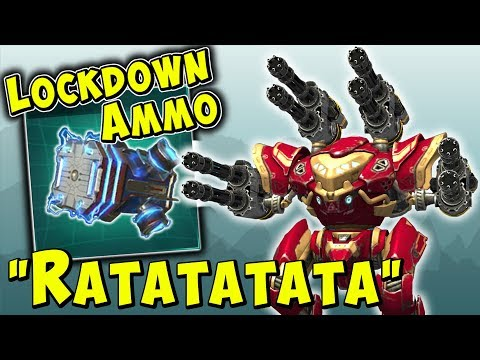 LOCKDOWN AMMO + PUNISHER SPECTRE? War Robots Mk2 Fun Gameplay WR