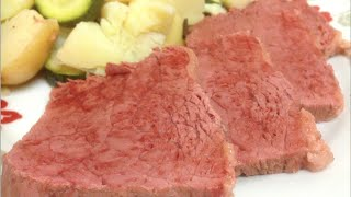 HOW TO COOK CORNED BEEF SILVERSIDE