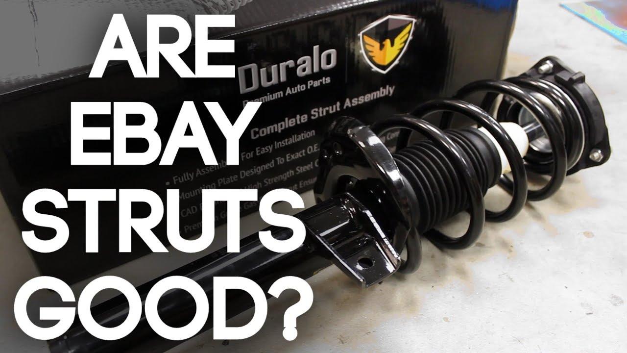 Review: eBay / Amazon Struts | Duralo Suspension Review