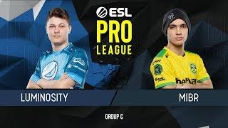 CS:GO - MIBR vs. Luminosity [Inferno] Map 1 - Group C - ESL Pro League Season 9 Americas