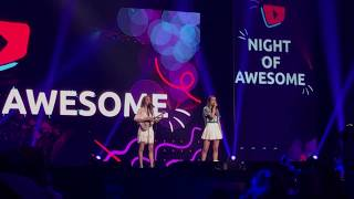 Merrell Twins - Internet Crush Live @VidCon 2018 Night of Awesome