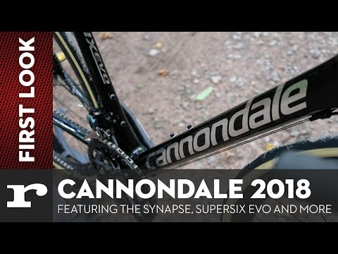 Cannondale 2018: Featuring the Synapse, Supersix Evo and more