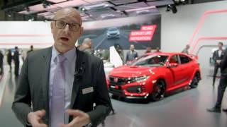 Les nouveautés Honda du salon de Genève 2017