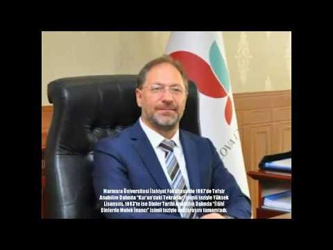 Yeni diyanet İşleri Başkanı Prof Dr Ali Erbaş ın özgeçmişi
