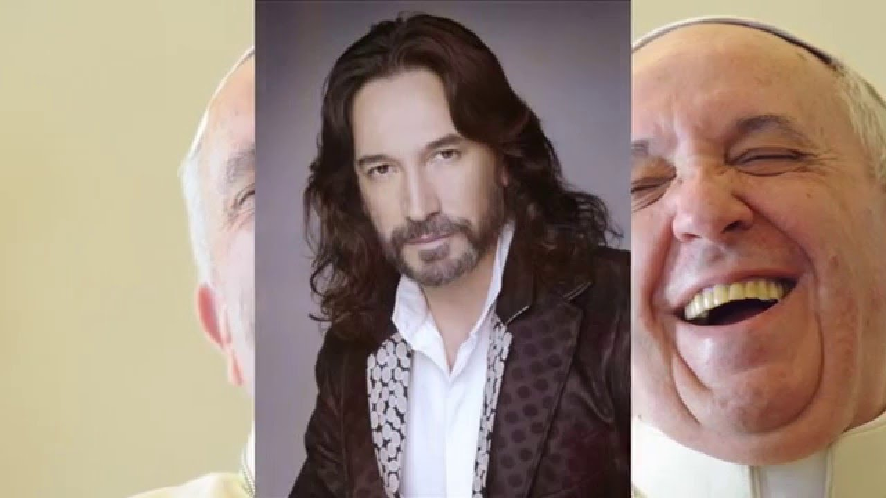 Marco Antonio Solis Querido Amigo Al Papa Francisco - YouTube