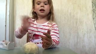 Hjemmelavet, DIY Squishy med numseklude + hånd skade