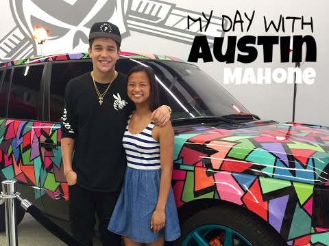 MY DAY WITH AUSTIN MAHONE • Experience Video