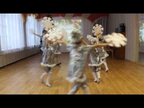 Танец снежинок. Детский сад №69 г. Сыктывкара