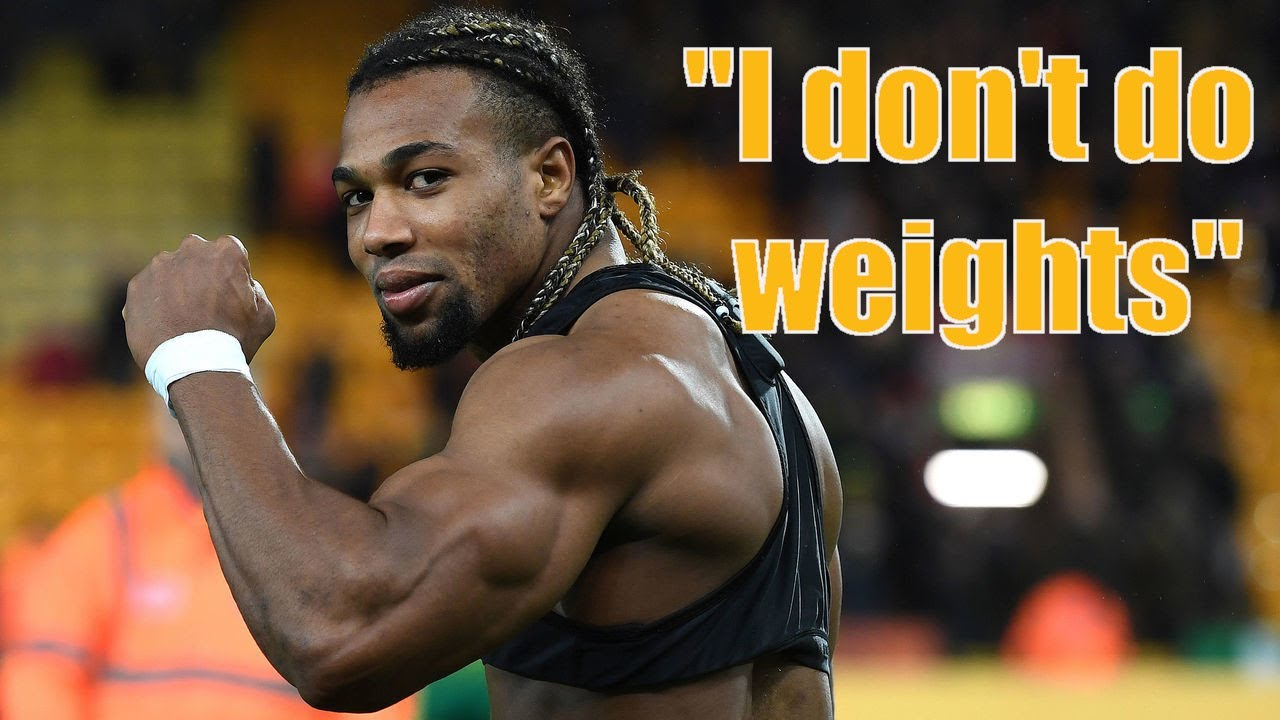 Adama Traore Doesn T Do Weights All Natural Machine Youtube