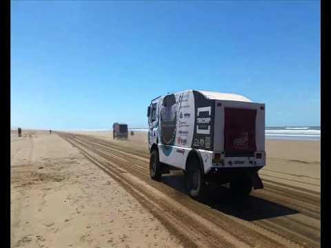 Libya rally start 2016 Schoones Dakar Daf Euro6