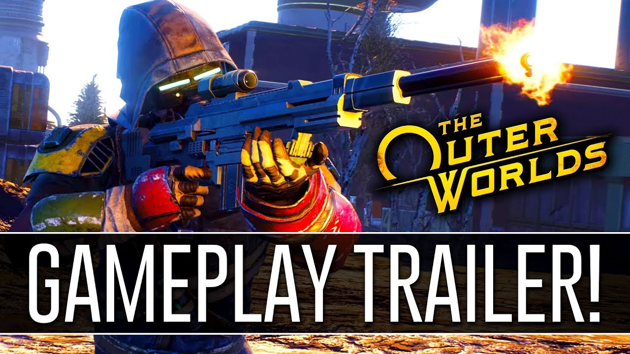 Download The Outer Worlds TGA 2018 Reveal Trailer REACTION! - Obsidian's NEW RPG