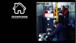 Налаштування турбованої пальника модульної котельні Viessmann