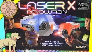 The NEW Laser X Revolution Laser Tag Gaming System